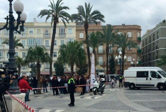 aviso bomba Cádiz