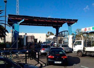 Colas a la entrada de Gibraltar