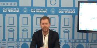 El concejal de Presidencia y Desarrollo económico de San Fernando, Conrado Rodríguez