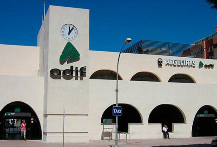 La estación de tren de Algeciras. Imagen de archivo