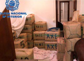 Agentes de la Policía Nacional han intervenido un total de 11.428 kilogramos de hachís