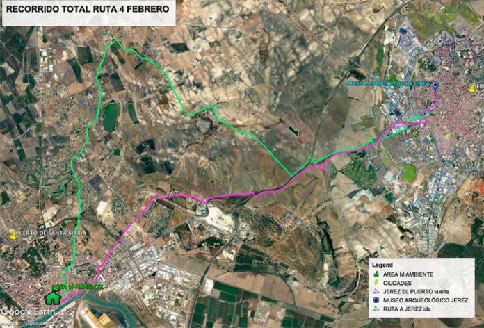Marcha en Bici a Jerez