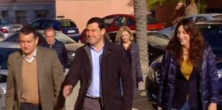 Juanma Moreno se reune en Cádiz con Presidentes provinciales PP de Andalucía