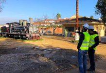 Obras Parque Tren