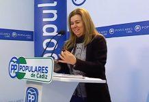 La parlamentaria andaluza por Cádiz, Teresa Ruiz-Sillero