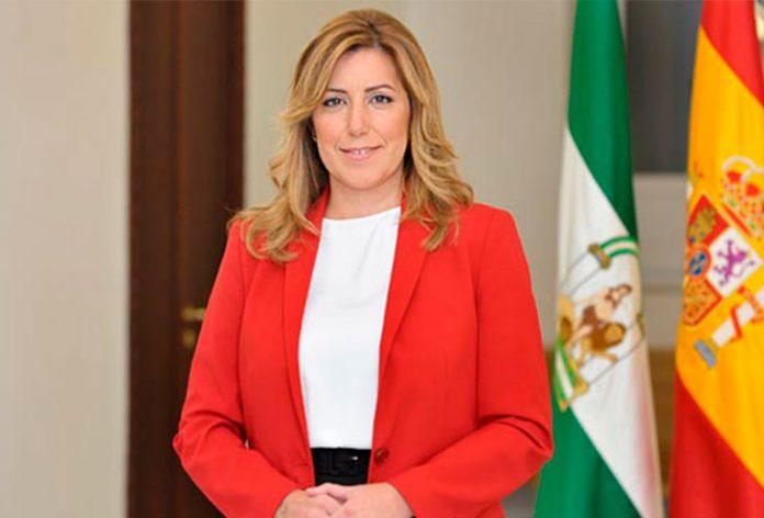 Imagen de archivo de Susana Díaz, presidenta de la Junta de Andalucía.