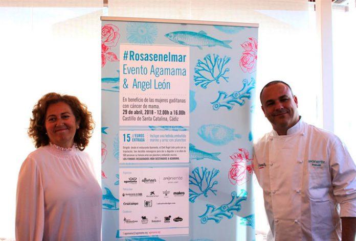 El chef Ángel León y Agamama