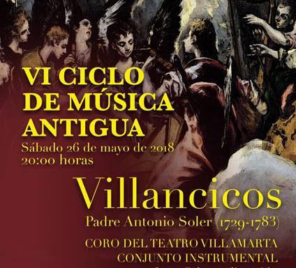 VI edición del ciclo de Música Antigua