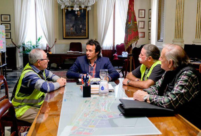 José María González y Marea Pensionistas