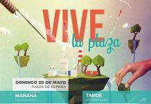 Cartel Vive la Plaza