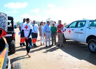 Nuevos vehículos Cruz Roja para La Barrosa