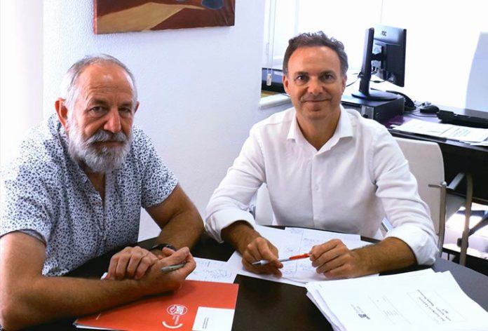 Antonio Pavón y David de la Encina